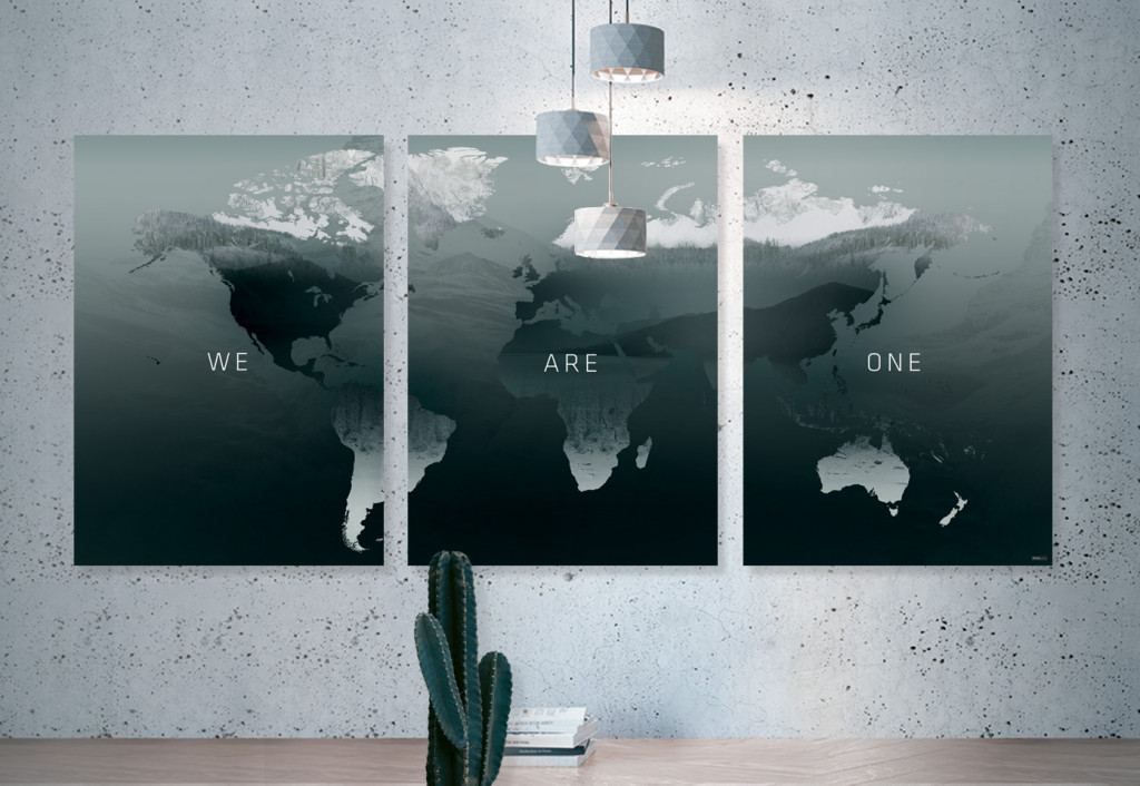 Plakat / Canvas / Akustik: We Are One (Thoughts)