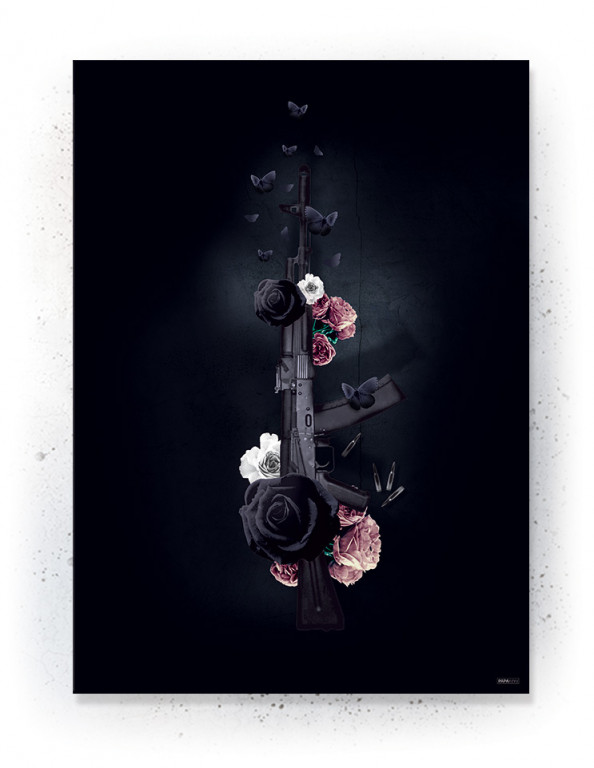 Plakat / canvas / akustik: AK47 (Desire)