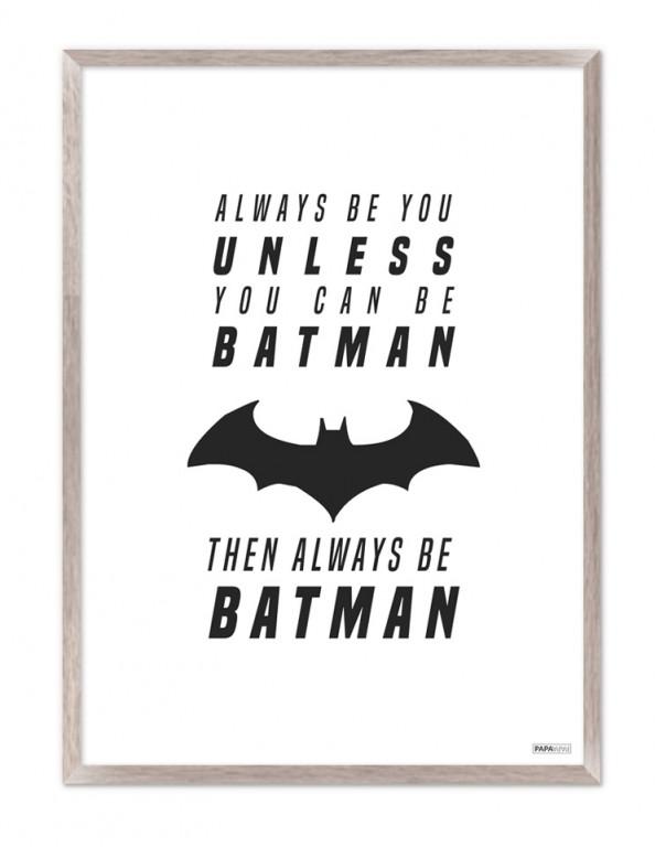 Plakat: Always be batman (Kids)