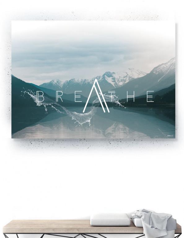 Plakat / Canvas / Akustik: Breathe (Thoughts)