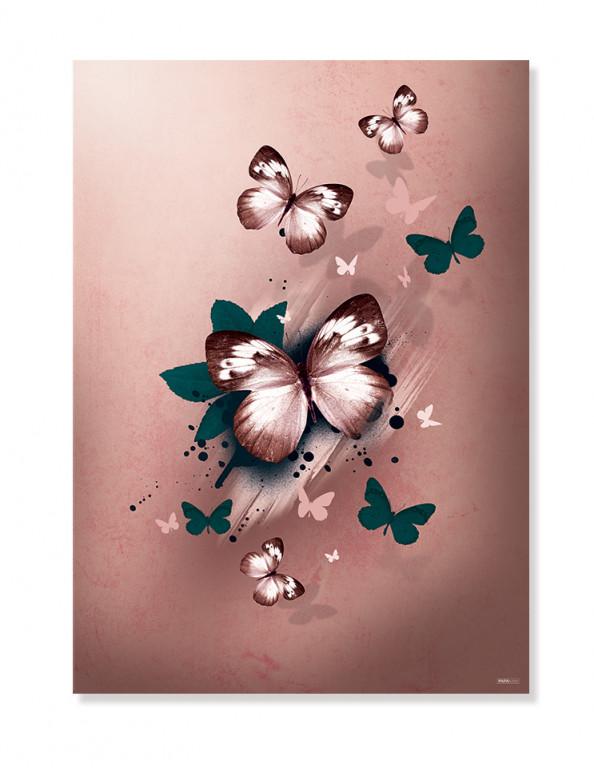 Plakat/Canvas: Butterflies (Earth)