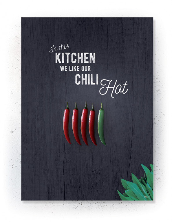 Plakater / Canvas / Akustik: Chili (Kitchen)