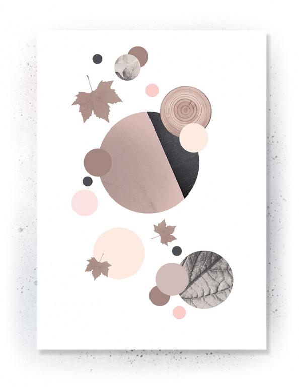 Plakat / canvas / akustik: Circles (Faded)