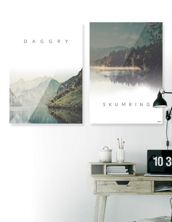 Plakat / Canvas / Akustik: Daggry & Skumring (Nature)