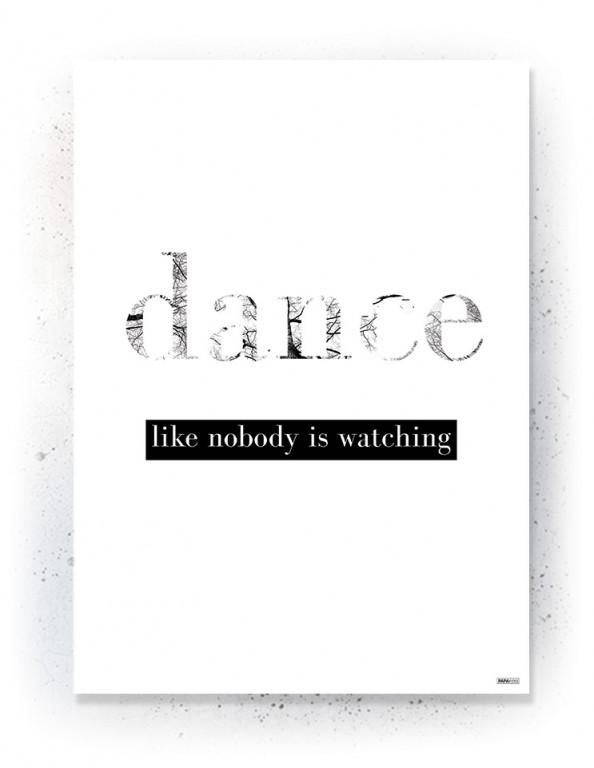 Plakat / Canvas / Akustik: Dance (Quote Me)