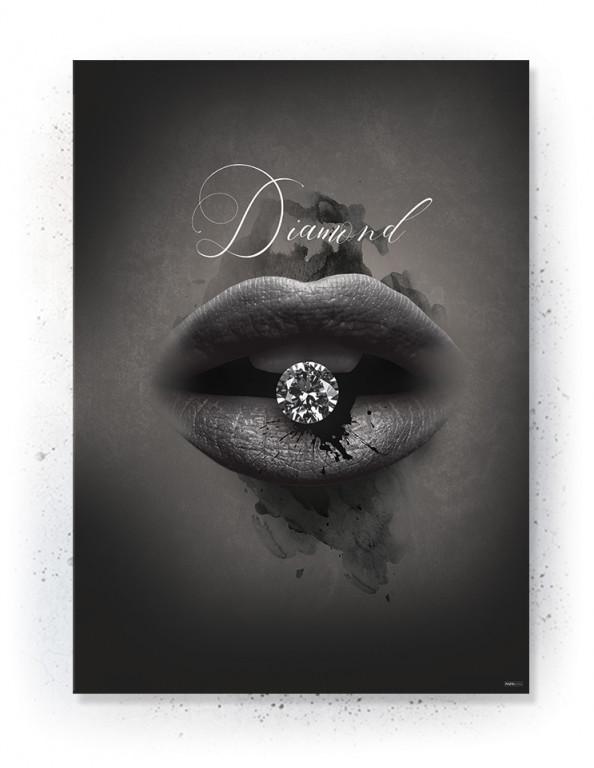 Plakat / canvas / akustik: Diamond (Faded)
