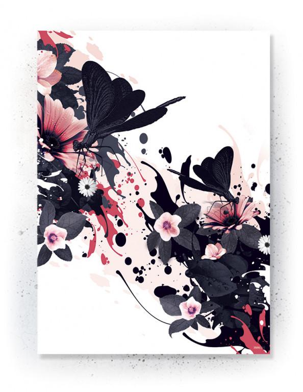 Plakat / canvas / akustik: Dragonfly (MIDSOMMER)