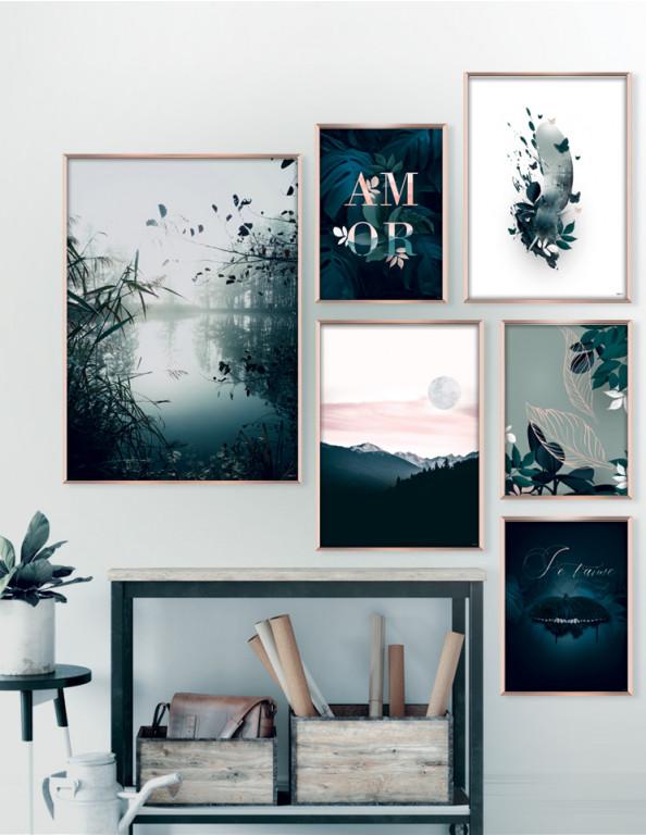 Plakat / CANVAS: Earth No. 2 (Earth)