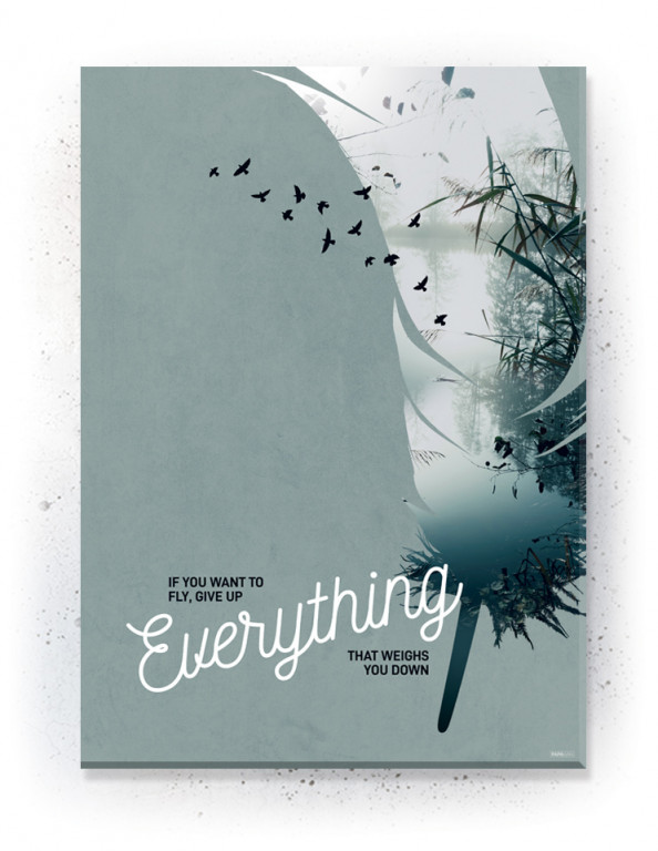 Plakat / CANVAS / Akustik: Everything 2 (Earth)