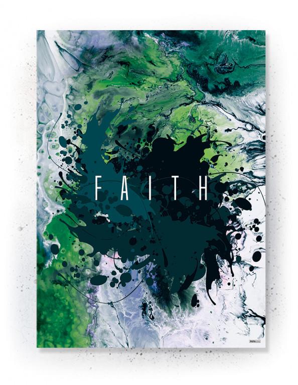 Plakat / canvas / akustik: Faith (Colorize / Life)