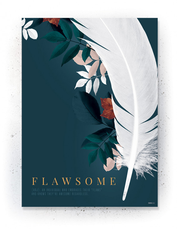 Plakat / CANVAS: Flawsome 1 (Earth)