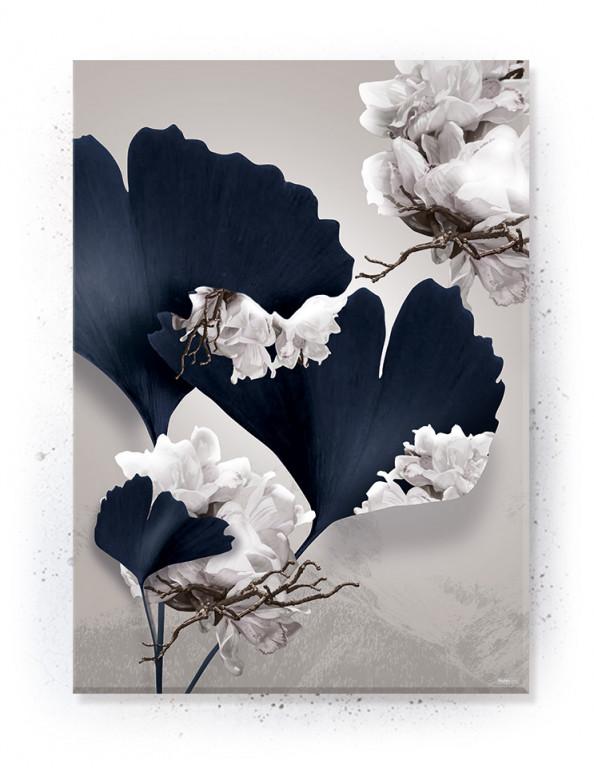 Plakat / Canvas / Akustik: Flowerscape (Stark)