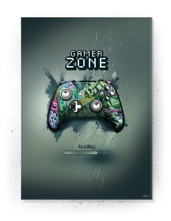 Plakat / Canvas / Akustik: Gaming Zone (Gamer)
