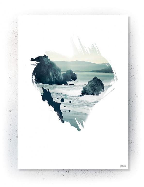 Plakat / Canvas: Heart of the Ocean (VIVID)