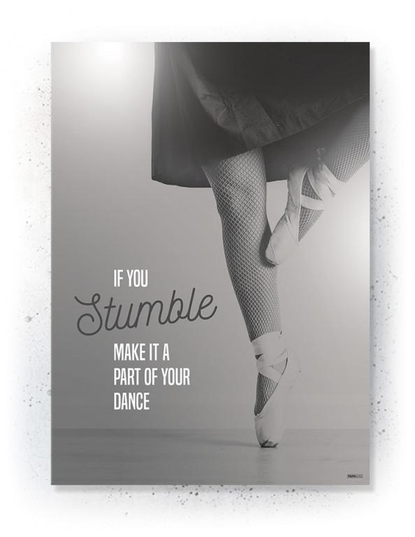 Plakat / Canvas / Akustik: Ballerina (Off-White)