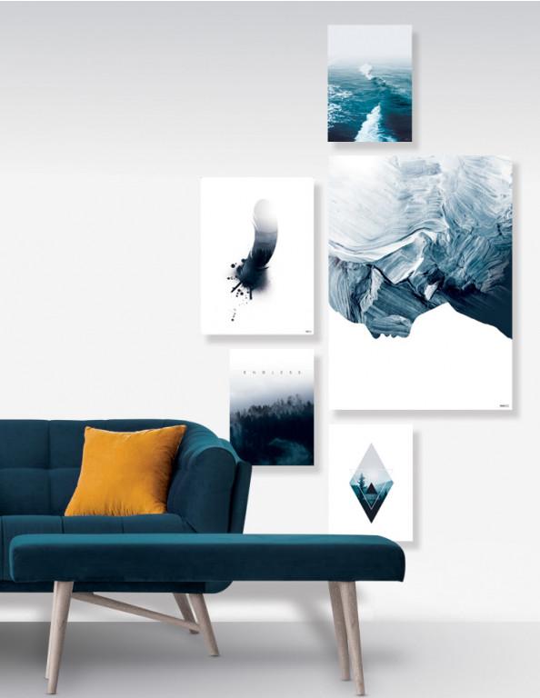 Plakat / Canvas / Akustik: Indigo No. 5 (Indigo)