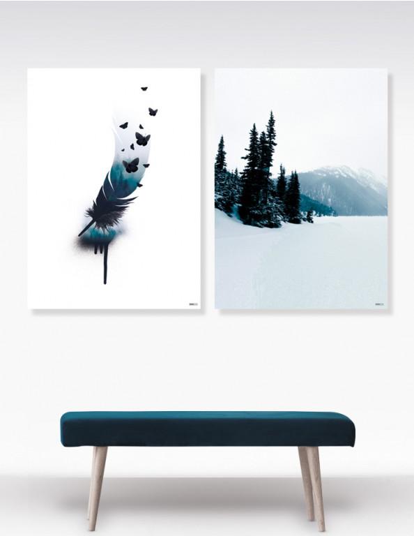 Plakat / Canvas / Akustik: Indigo No. 6 (Indigo)