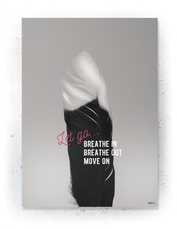Plakat / Canvas / Akustik: Let Go (Quote Me)