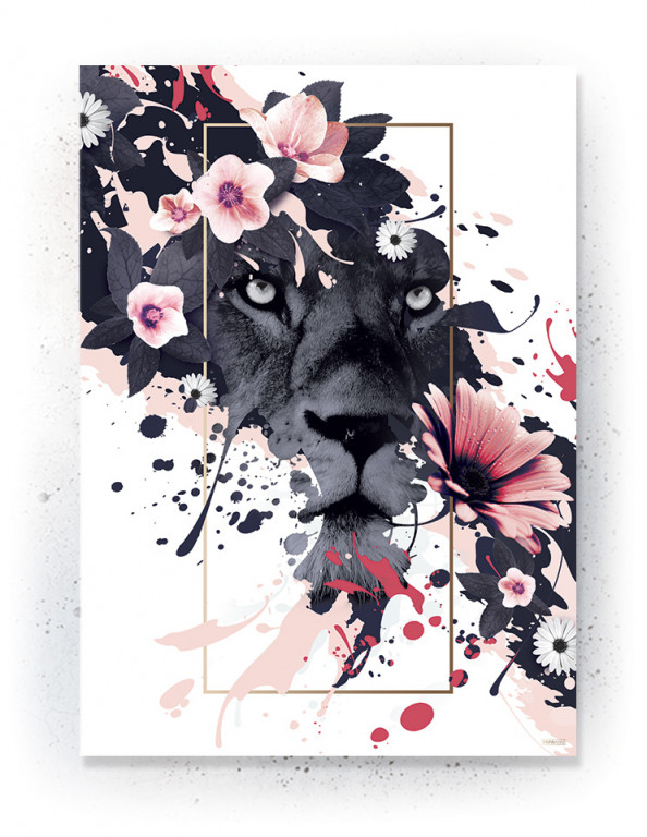 Plakat / canvas / akustik: Lion (MIDSOMMER)