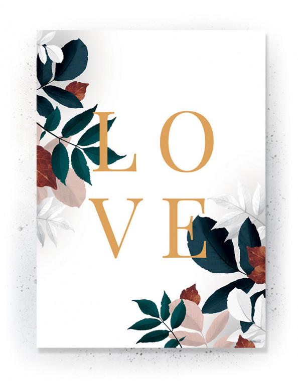 Plakat / CANVAS: LOVE 1 (Earth)