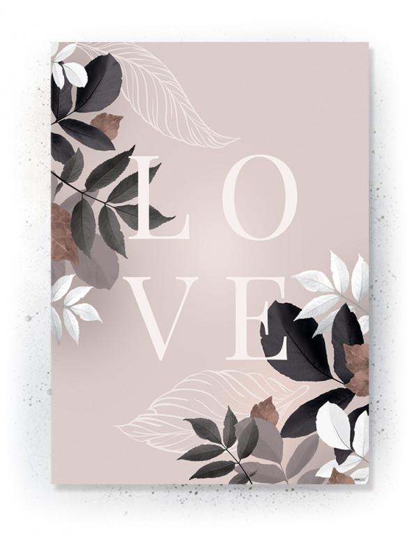 Plakat / canvas / akustik: LOVE 2 (Faded)