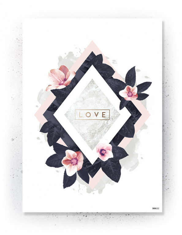 Plakat / canvas / akustik: Love 2 (MIDSOMMER)