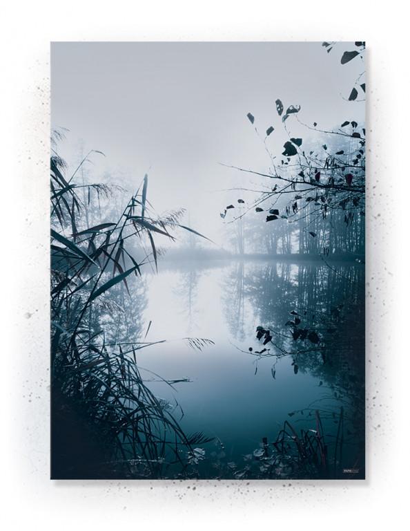 Plakat / Canvas / Akustik: Mist (Indigo)