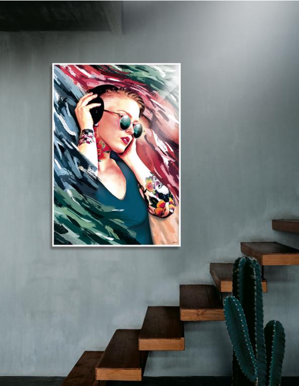 Plakat / Canvas / Akustik: Thousand Bewts (Motivational Art)