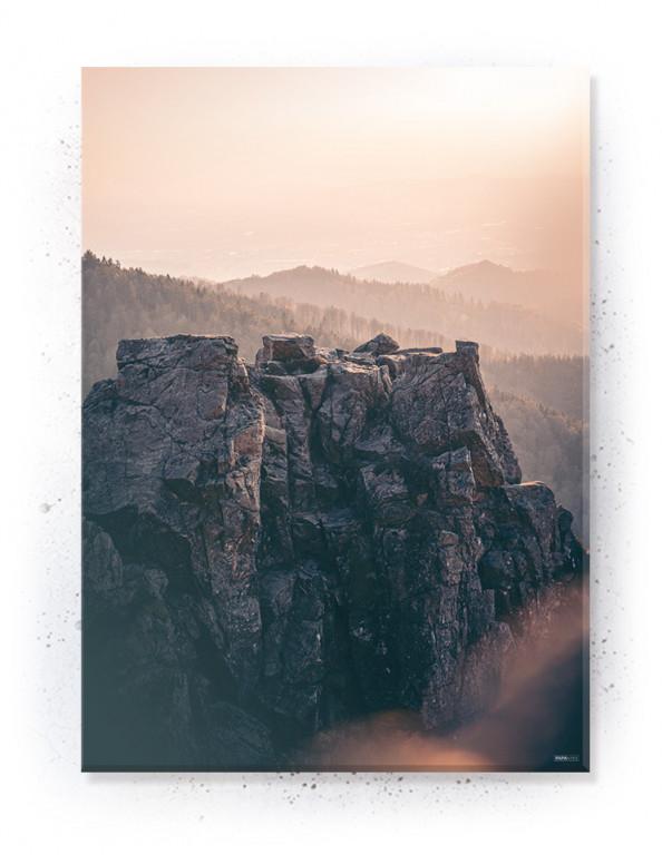 Plakat / canvas / akustik: Mountains (Dust)
