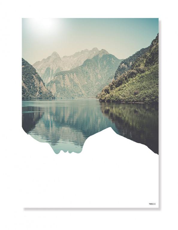 Plakat / Canvas / Akustik: Mountain (Nature)