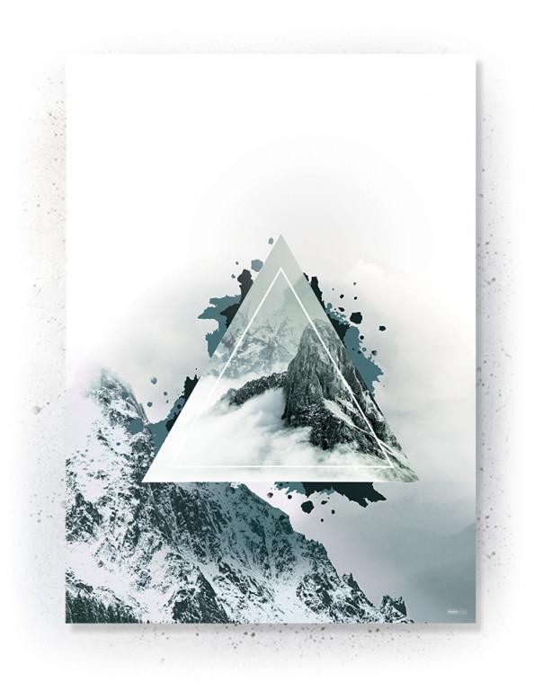 Plakat / Canvas / Akustik: Mountain (Thoughts)