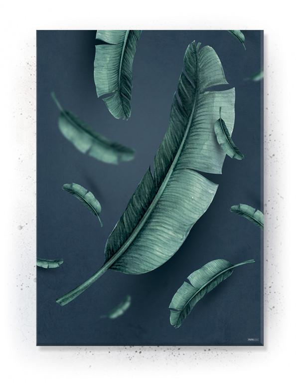 Plakat / canvas / akustik: Jungle Leaves (Juncture)