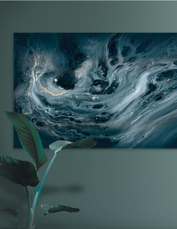 Spotpris / Plakat: Petroleum Acryllic Paint (Stark)