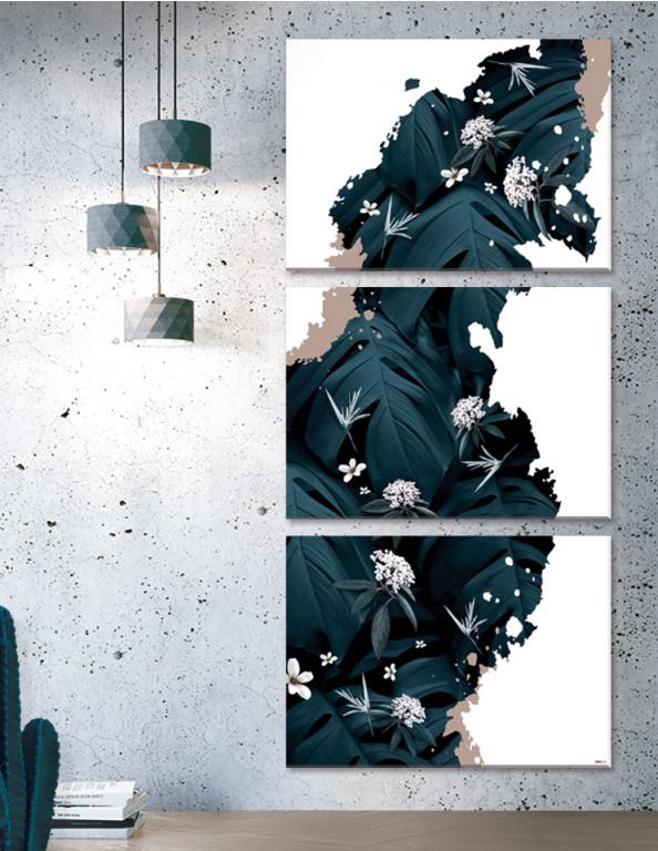 Plakat / Canvas / Akustik: Rift II - Storformat Artwork (Earth)