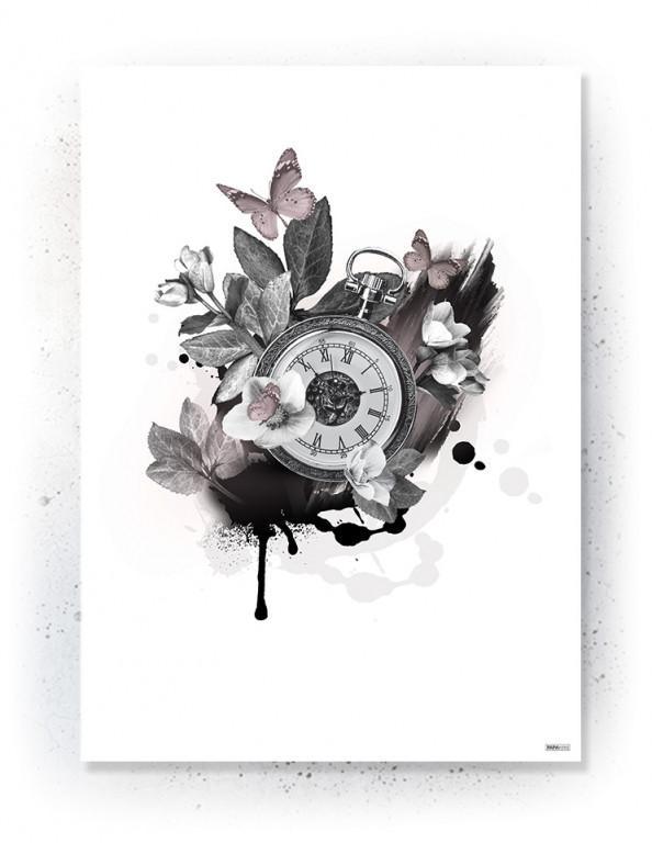 Plakat / canvas / akustik: Timepiece (Faded)