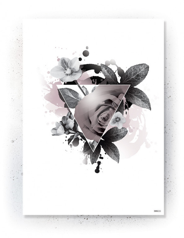 Plakat / canvas / akustik: Triangle (Faded)