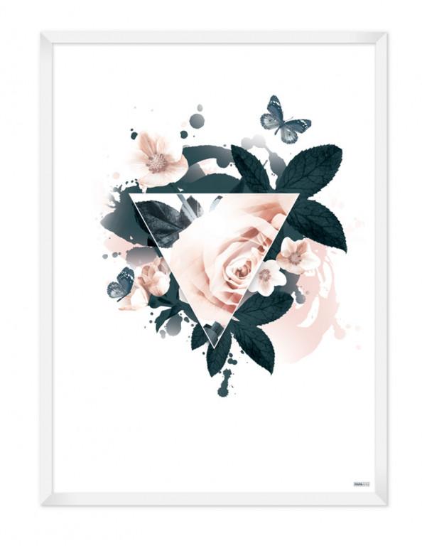 Plakat: Triangle (Spring)