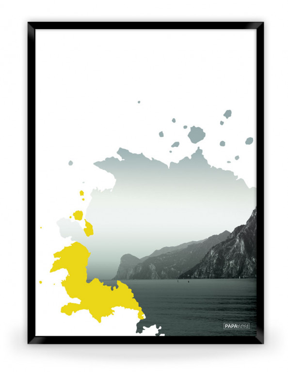 Plakat: View (Yellow Nature)