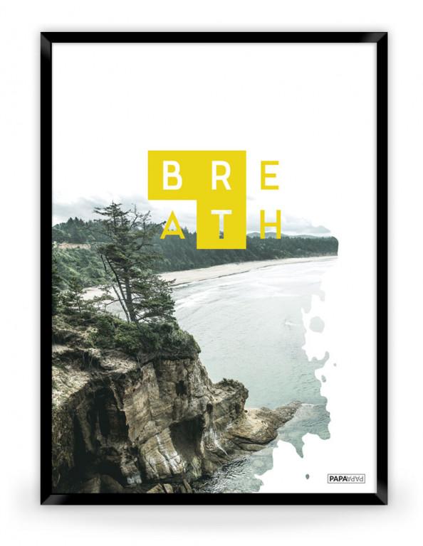 Plakat: Breath (Yellow Nature)