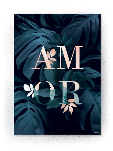 Plakat / CANVAS: AMOR (Earth)