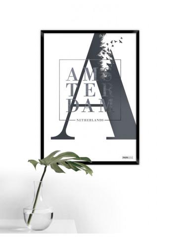 Plakat: Amsterdam (Stad)
