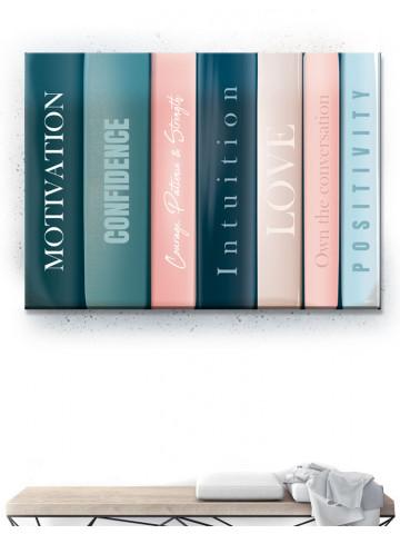 Plakat / Canvas / Akustik: Bøger (Empowerment)