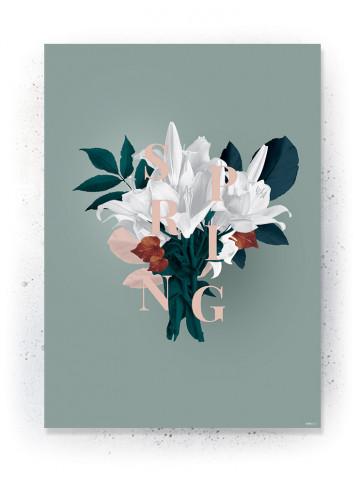 Plakat / CANVAS: Bouquet (Earth)