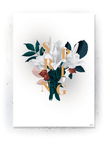 Plakat / CANVAS: Bouquet 1 (Earth)