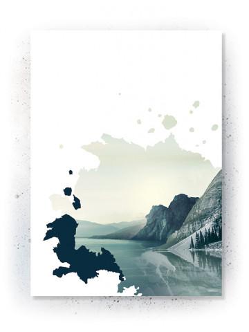Plakat / Canvas: Breathe (VIVID)