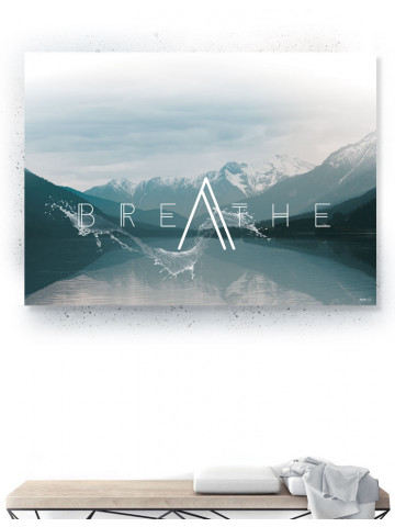 Plakat / Canvas / Akustik: Breathe (Thoughts)