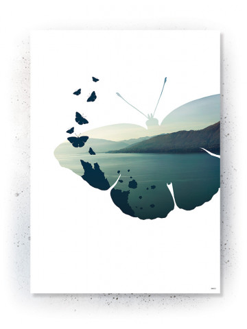 Plakat / Canvas: Bitterfly (VIVID)