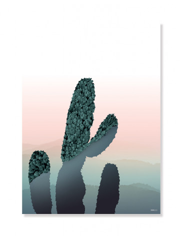 Plakat/Canvas: Cactus (BRIGHT)