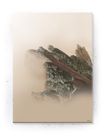 Plakat / canvas / akustik: Cliff (Earth)