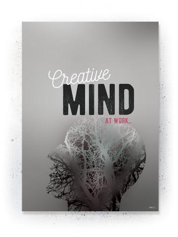 Plakat / Canvas / Akustik: Creative Mind (Quote Me)